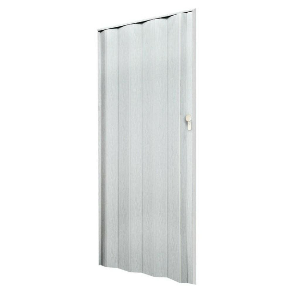 porta sanfonada branca 210 x 80 home center marchi